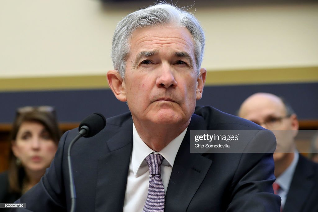 Federal Reserve Board Chairman Jerome Powell Testifies To House Hearing On State Of The Economy