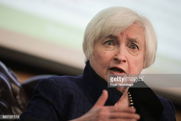 14 Janet Yellen Discusses U S Economic Outlook At Stanford