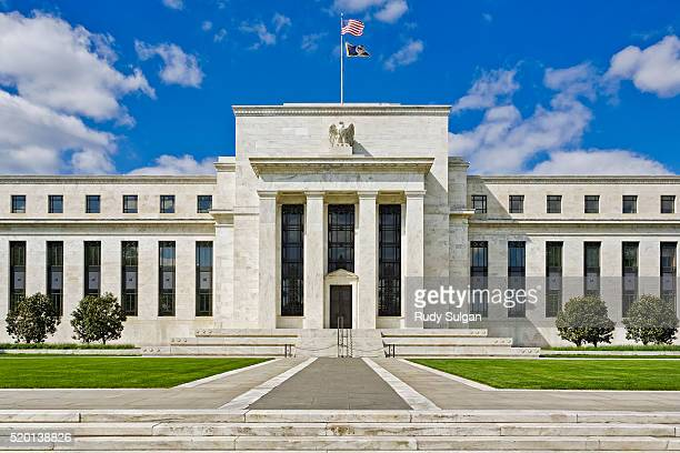 federal reserve building in washington, dc - central bank stock pictures, royalty-free photos & images