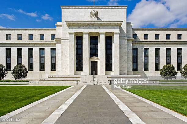 federal reserve building in washington, dc - federal reserve stock pictures, royalty-free photos & images
