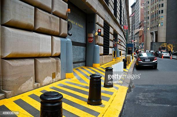 連邦準備ビル、ロウアーマンハッタンの金融街、ニューヨーク市