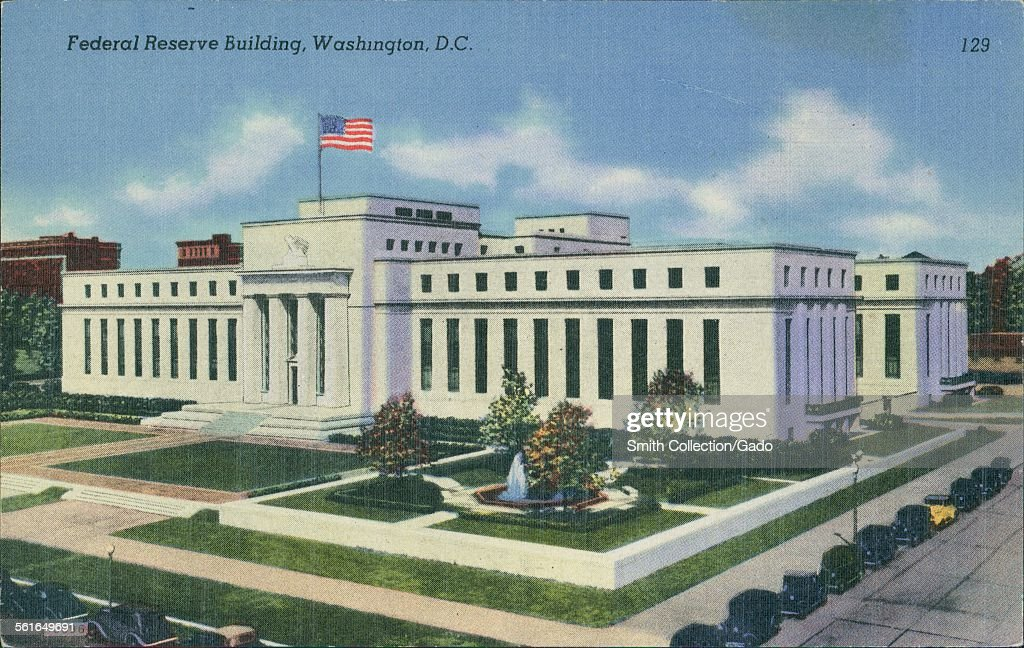 Federal Reserve Building : News Photo