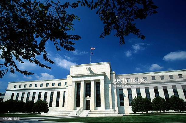 federal reserve building, washington - federal reserve stock pictures, royalty-free photos & images