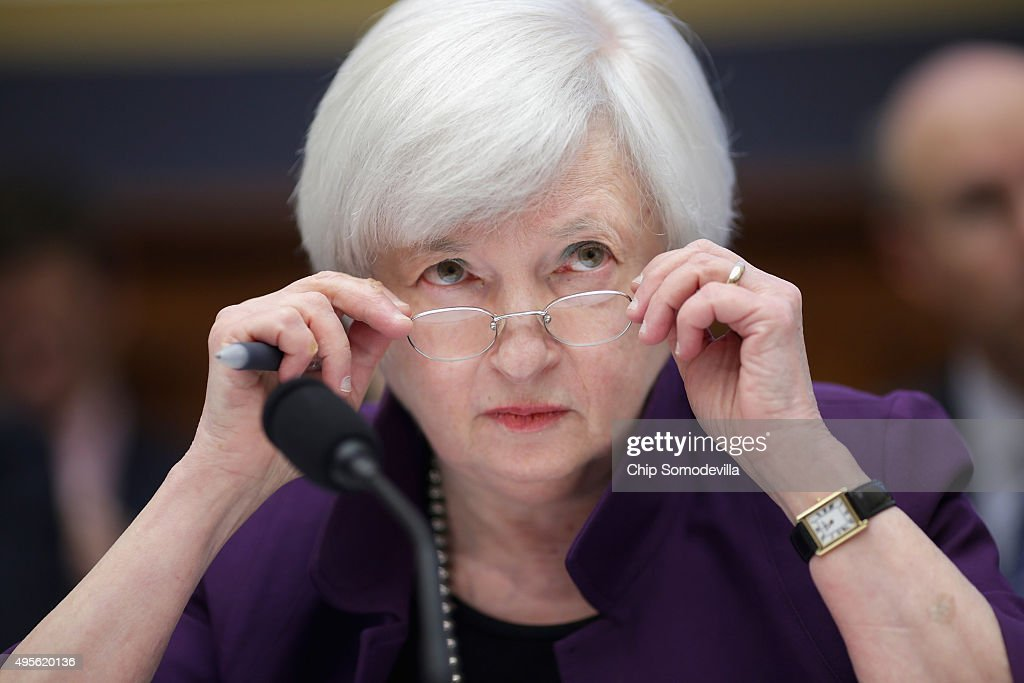 Janet Yellen Testifies Before House Financial Services Committee : News Photo