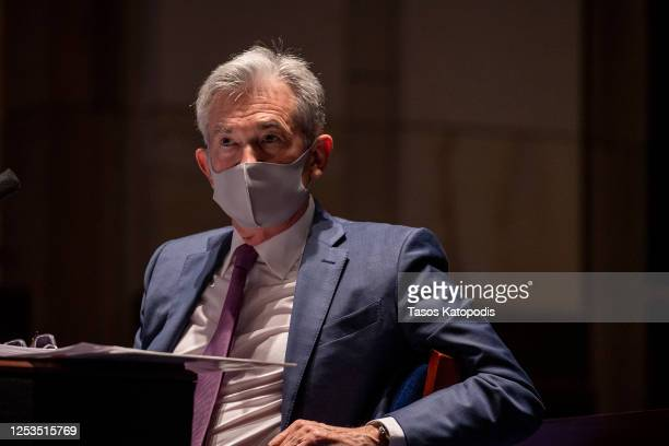 Federal Reserve Chair Jerome H. Powell testifies before the House Financial Services Committee on Capitol Hill on June 30, 2020 in Washington, DC....