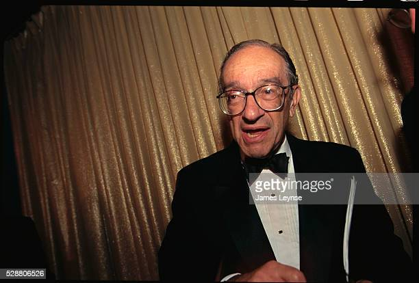 Federal Reserve Chairman Alan Greenspan attends the Public Securities Association convention in Manhattan The PSA a trade association representing...