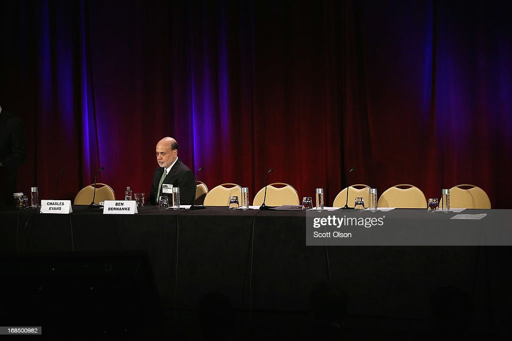Fed Chair Bernanke Addresses The Federal Reserve Bank Of Chicago's Annual Conference