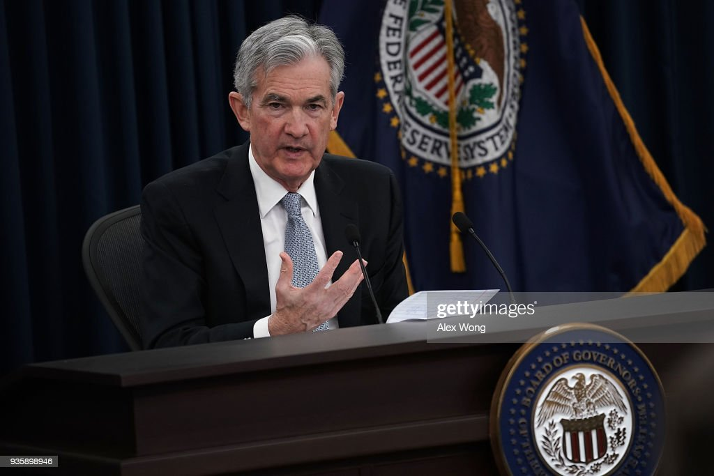 Federal Reserve Chair Jerome Powell Holds News Conf. On Interest Rate Decision