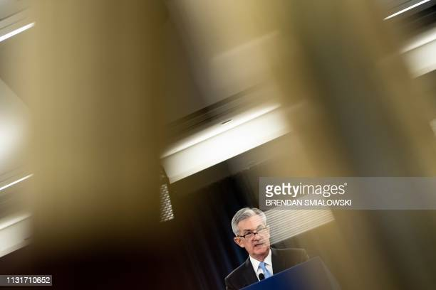 DC: Federal Reserve Chairman Jerome Powell Addresses The Media