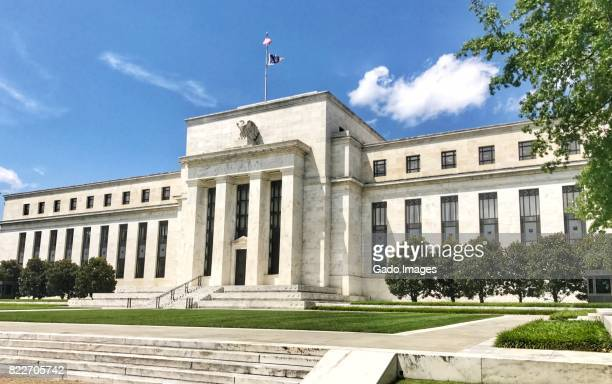 us federal reserve - monetary policy stock pictures, royalty-free photos & images