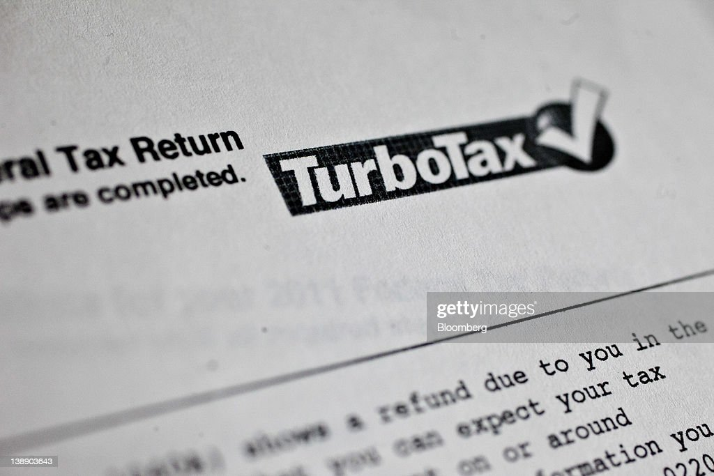 Intuit Inc.'s TurboTax Software : News Photo