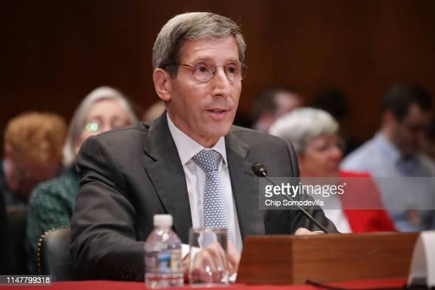 Federal Trade Commission Chairman Joseph Simons testifies before the Senate Financial Services and General Government Subcommittee about their FY2020...