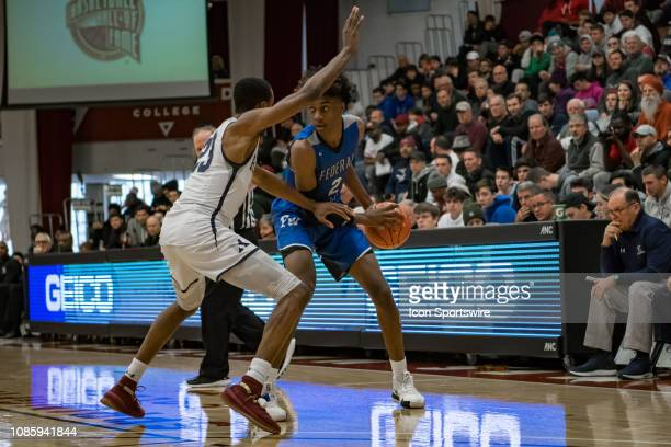 Federal Way Eagles forward Jaden McDaniels during the first half of the high school basketball game between the Ranney Panthers and Federal Way...