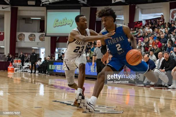 Federal Way Eagles forward Jaden McDaniels during the high school basketball game between the Ranney Panthers and Federal Way Eagles on January 21...