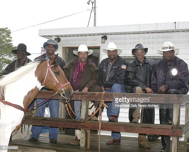Federation of Black Cowboys, who will perform in a Black Rodeo in Queens. Zeke Hayes, Tuson Wilson, Jessie Wise, Don Rouse Sr., RW Curly Hall and...