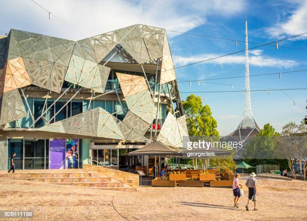 Federation Square in central Melbourne