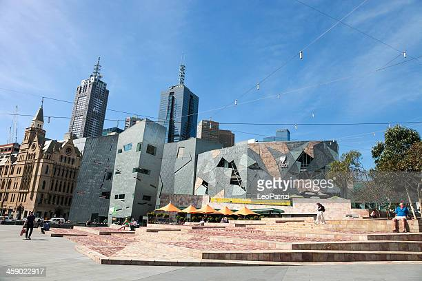 Federation Square in Melbourne - Australia