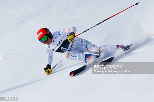 Federica Brignone of Italy competes during the Audi FIS Alpine Ski World Cup Women's Super G on December 8 2018 in St Moritz Switzerland