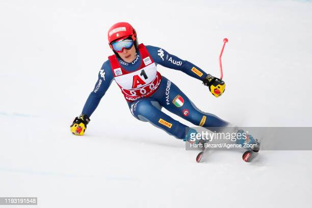 Federica Brignone of Italy competes during the Audi FIS Alpine Ski World Cup Women's Alpine Combined on January 12, 2020 in Zauchensee Austria.