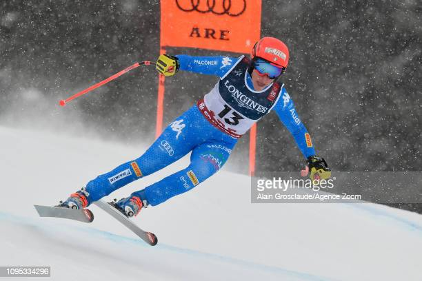 Federica Brignone of Italy competes during the FIS World Ski Championships Women's Alpine Combined on February 8, 2019 in Are Sweden.