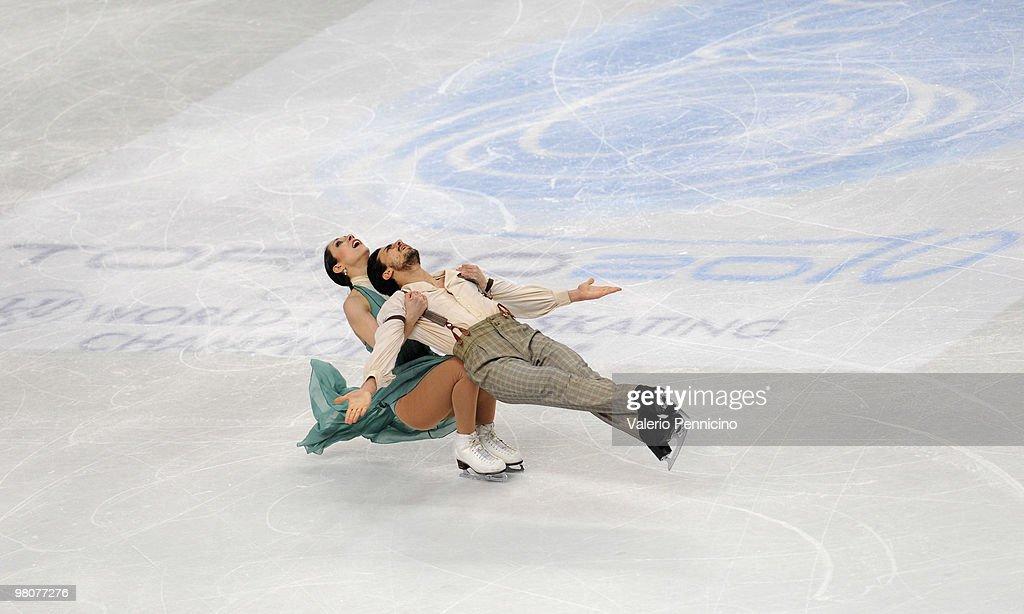 ISU World Figure Skating Championships - Day Four