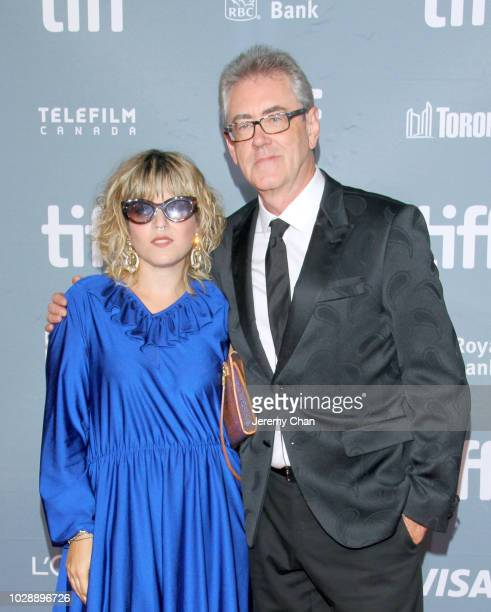 Federica Foglia and Director and CEO of the Toronto International Film Festival Piers Handling attend the 2018 TIFF Tribute Gala honoring Piers...