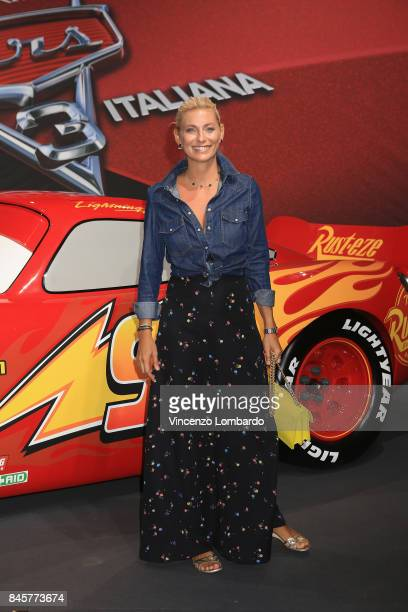 Federica Fontana attends Cars 3 photocall in Milan on September 11 2017 in Milan Italy