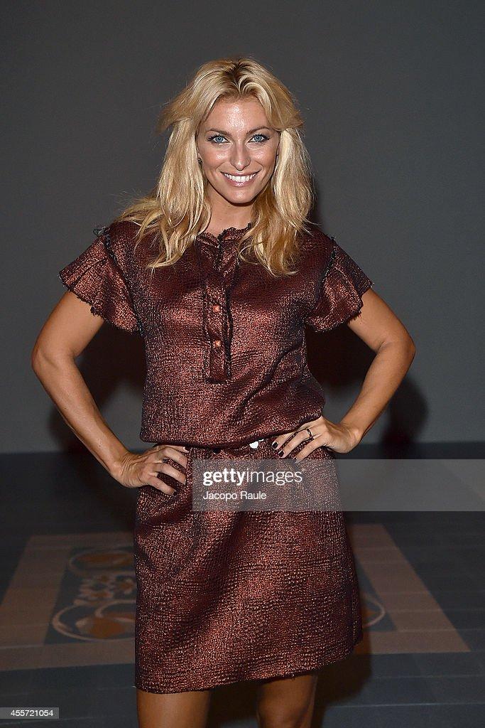free shipping 0965c b2f70 Federica Fontana attends Kristina Ti during Milan Fashion ...