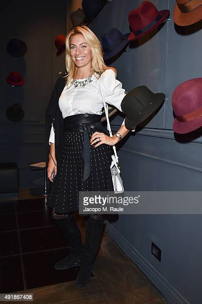 Federica Fontana attends 'La Vendemmia 2015' The World's Finest Wine Lifestyle Experience on October 8 2015 in Milan Italy