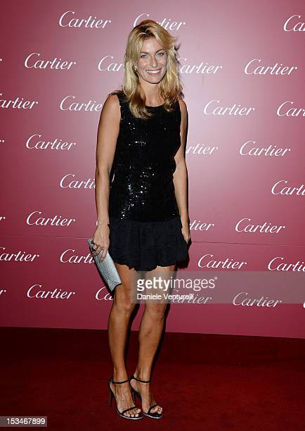 Federica Fontana attends the Cartier Boutique reopening cocktail party on October 5 2012 in Milan Italy
