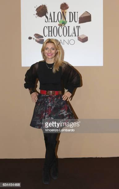 Federica Fontana attends the Salon Du Chocolat 2017 on February 9 2017 in Milan Italy