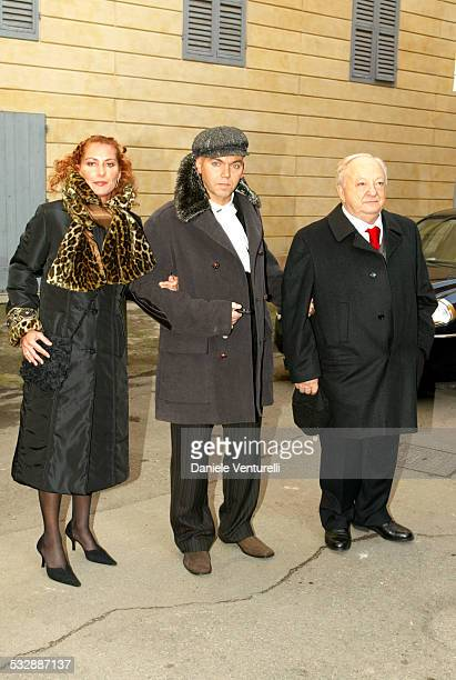 Federica Grazia Chicco Ronchetti and Franco Casarini