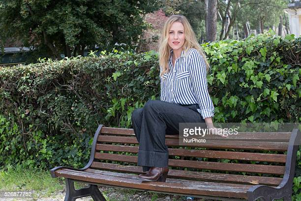 Federica Martinelli attends the press launch for the film quotUsticaquot in Rome Italy on March 24 2016