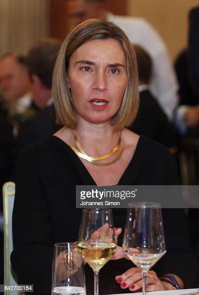 Federica Mogherini, Vice-President of the EC, and Youssef