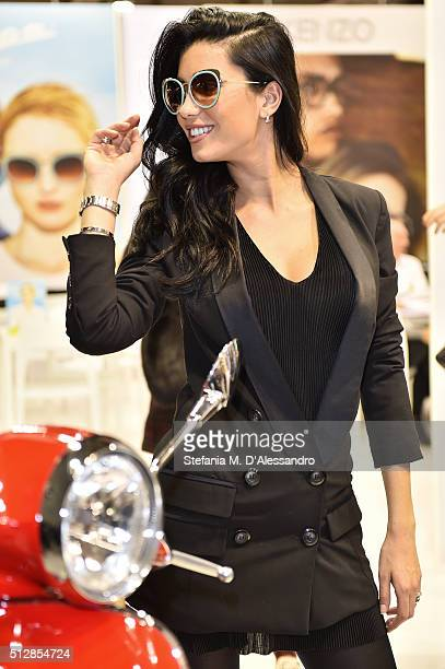 Federica Nargi attends MIDO 2016 the Milano Eyewear Show during Milan Fashion Week FW16 on February 27 2016 in Milan Italy