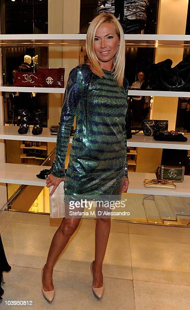 Federica Panicucci attends Roberto Cavalli Milan Fashion Night Out on September 9, 2010 in Milan, Italy.