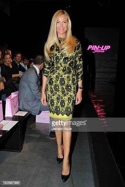 Federica Panicucci attends the runway at the PinUp Star Spring/Summer 2013 fashion show as part of Milan Womenswear Fashion Week on September 22 2012...