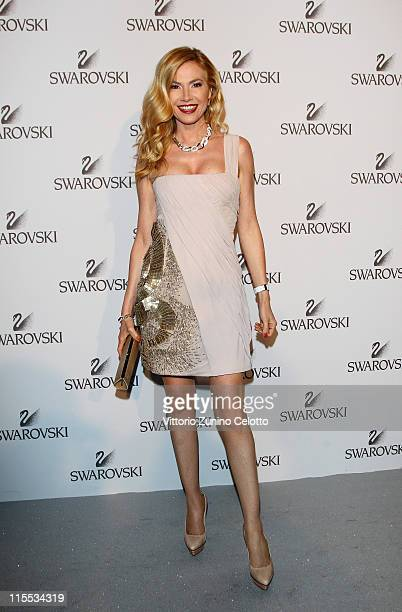 Federica Panicucci attends the Swarovski Fashionation at Palazzo Reale on June 7, 2011 in Milan, Italy.