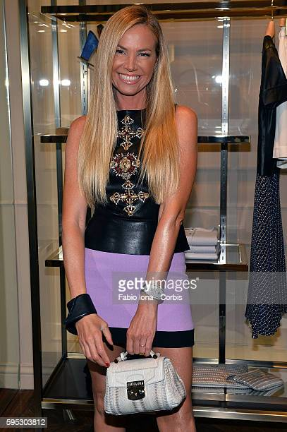 Federica Panicucci attends the Trussardi Cocktail Opening Boutique on June 29, 2013 in Forte dei Marmi, Italy