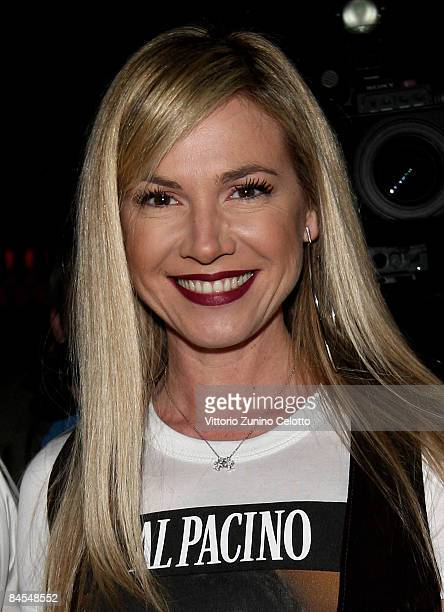 Federica Panicucci attends XXIII Years of Glam: Your Key To Hollywood Discoteque Nightlife Party on January 29, 2009 in Milan, Italy.