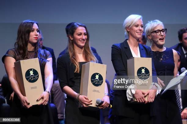 Federica Pellegrini attends the Circolo Aniene Annual Awards event at Sala Sinopoli on December 19 2017 in Rome Italy