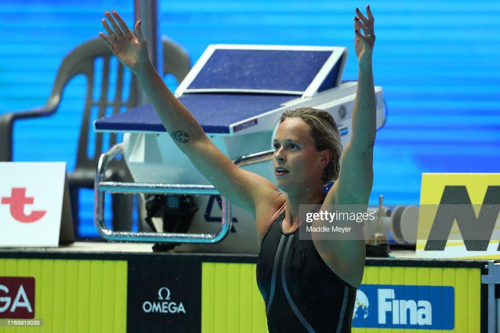 Gwangju 2019 FINA World Championships: Swimming - Day 4 : News Photo