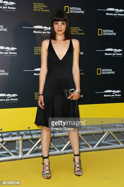 Federica Sabatini attends National Geographic's 'Genius Einstein' photocall on May 10 2017 in Rome Italy