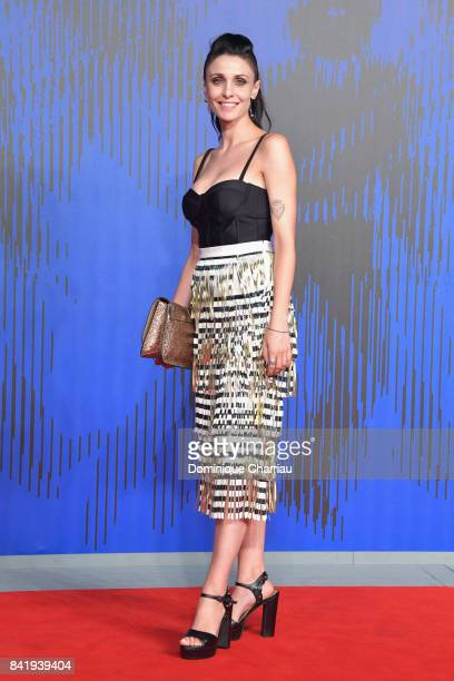 Federica Vincenti attends the 'Suburra The Series' premiere during the 74th Venice Film Festival on September 2, 2017 in Venice, Italy.