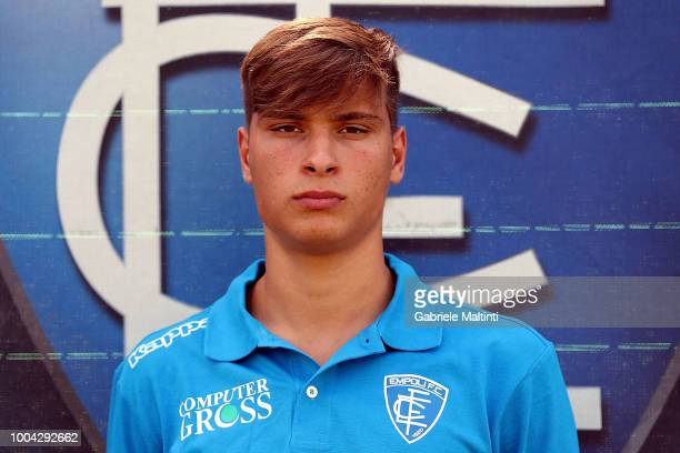 Federico Apolloni of Empoli U19 on July 23 2018 in Empoli Italy