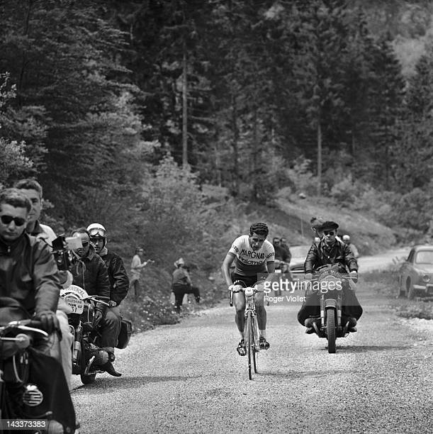 Federico Bahamontes Spanish racing cyclist winner of the Tour de France in 1959 Here during the Critérium de la Route 1963