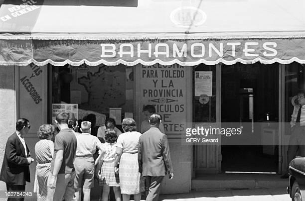 Federico Bahamontes Winner Of The 1959 Tour De France Espagne 17 juillet 1959 la ville de Tolède attend le retour du coureur cycliste Federico...