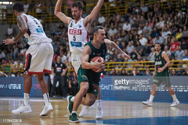 Federico Bavosi of Aguada during the game between SESI/Franca v Aguada valid for the FIBA Champions League Americas at Pedro Morilla Fuentes...