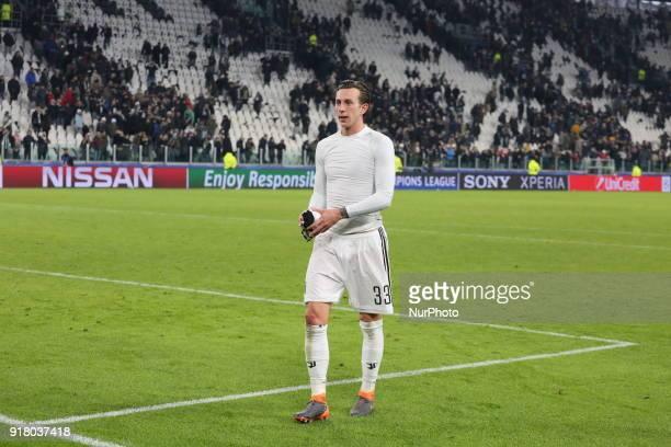 Federico Bernardeschi after the UEFA Champions League 2017/18 football match between Juventus FC and Tottenham Hotspur FC at Allianz Stadium on 13...