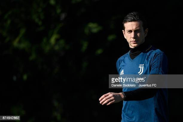 Federico Bernardeschi at Juventus Center Vinovo on November 16 2017 in Vinovo Italy